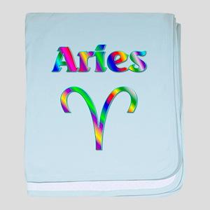 Aries the Ram baby blanket