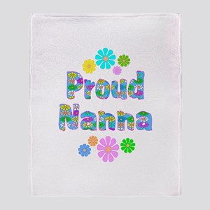 Nanna Throw Blanket