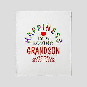 Grandson Throw Blanket