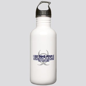 I SEE DUMB PEOPLE Stainless Water Bottle 1.0L