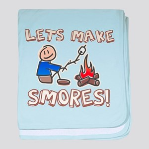 Lets Make SMORES! baby blanket