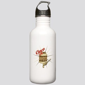Cinco De Mayo Mayonnaise Stainless Water Bottle 1.