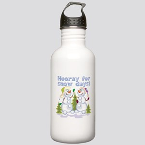 HOORAY for Snow Days! Stainless Water Bottle 1.0L