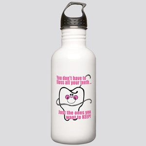 You don't have to floss Stainless Water Bottle 1.0