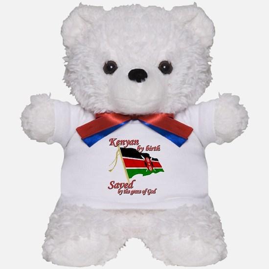 Kenyan by birth Teddy Bear