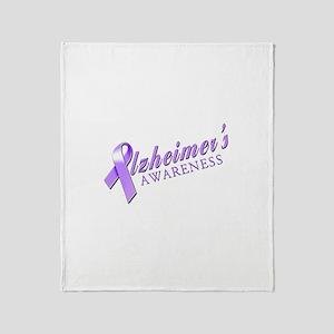 Alzheimer's Awareness Throw Blanket