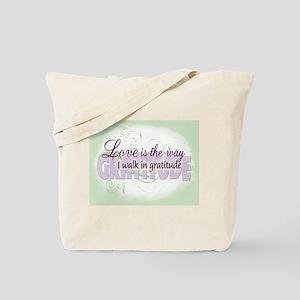 ACIM-Walk in Gratitude Tote Bag