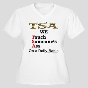 TSA Women's Plus Size V-Neck T-Shirt