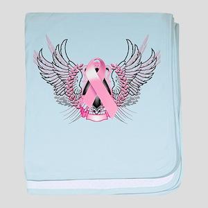 Awareness Tribal Pink baby blanket