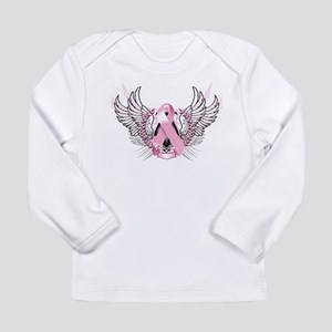 Awareness Tribal Pink Long Sleeve Infant T-Shirt