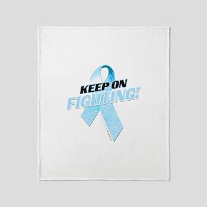 Keep on Fighting! Throw Blanket