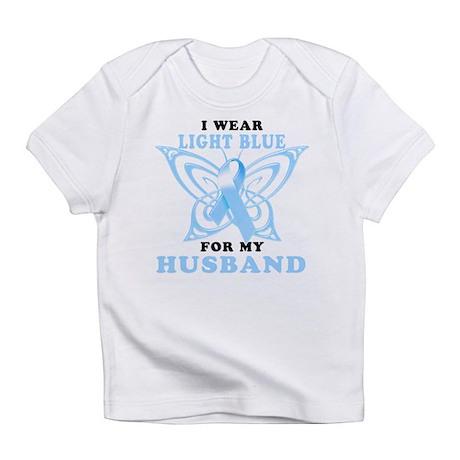 I Wear Light Blue for my Husb Infant T-Shirt