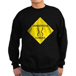 Dangerous Curves Sign Sweatshirt (dark)