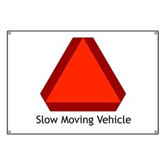 Slow Moving Vehicle 1 Banner