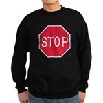 Stop Sign Sweatshirt (dark)