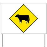 Cattle Crossing Sign Yard Sign