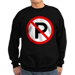No Parking Sign Sweatshirt (dark)