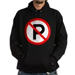 No Parking Sign Hoodie (dark)