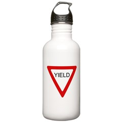 Yield SIgn Stainless Water Bottle 1.0L