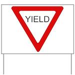 Yield SIgn Yard Sign