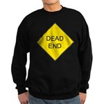 Dead End Sign Sweatshirt (dark)