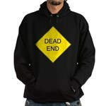 Dead End Sign Hoodie (dark)
