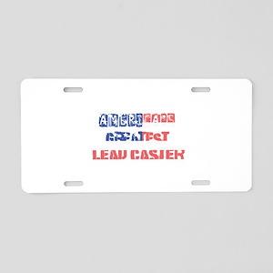 America's Greatest Lead Cas Aluminum License Plate