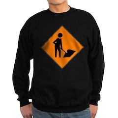 Men at Work 3 Sweatshirt (dark)