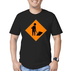 Men at Work 3 Men's Fitted T-Shirt (dark)