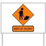 Men at Work 2 Yard Sign