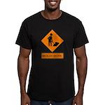 Men at Work 2 Men's Fitted T-Shirt (dark)