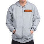 Men At Work Sign 1 Zip Hoodie
