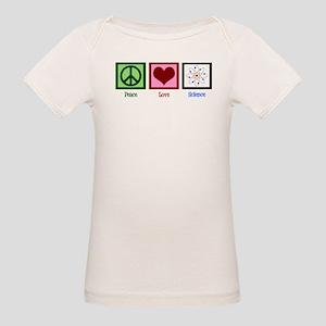 Peace Love Science Organic Baby T-Shirt