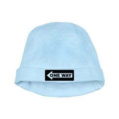 One Way Sign - Left - baby hat