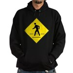 Pedestrian Crosswalk Sign Hoodie (dark)