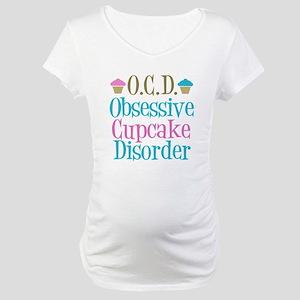 Cute Cupcake Maternity T-Shirt