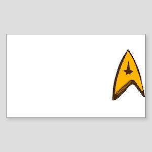 Star Trek Sticker (Rectangle)