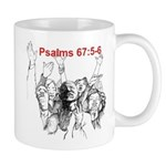 Psalms 67:5-6 Face-Out Mugs