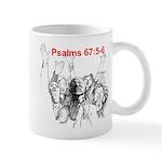 Psalms 67:5-6 Face-Out Mugs
