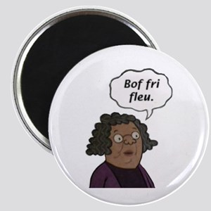 Bof fri fleu Magnet