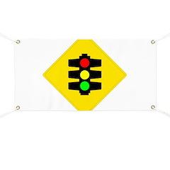 Traffic Light Banner