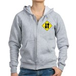 Two Way Traffic Women's Zip Hoodie