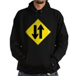 Two Way Traffic Hoodie (dark)