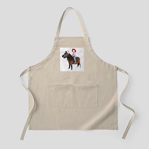 Santa Mini Horse Apron