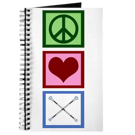 Peace Love Twirl Journal