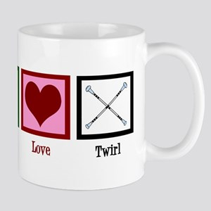 Peace Love Twirl Mug