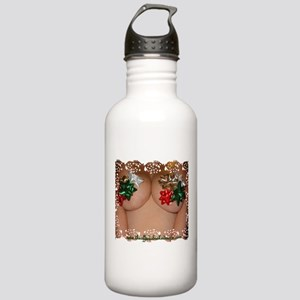 Christmas Bows Stainless Water Bottle 1.0L