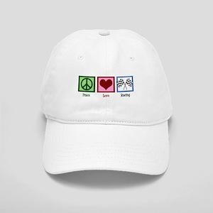 Peace Love Auto Racing Cap