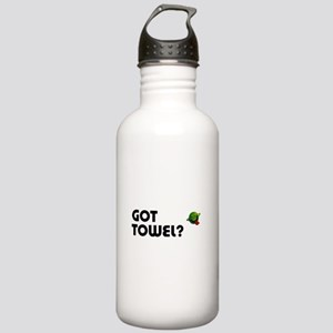 Hitchiker's Guide - Got Towel Stainless Water Bott