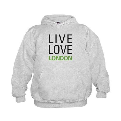 Live Love London Kids Hoodie